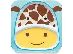 Skip Hop Zoo Talířek 2 v 1 - Žirafa