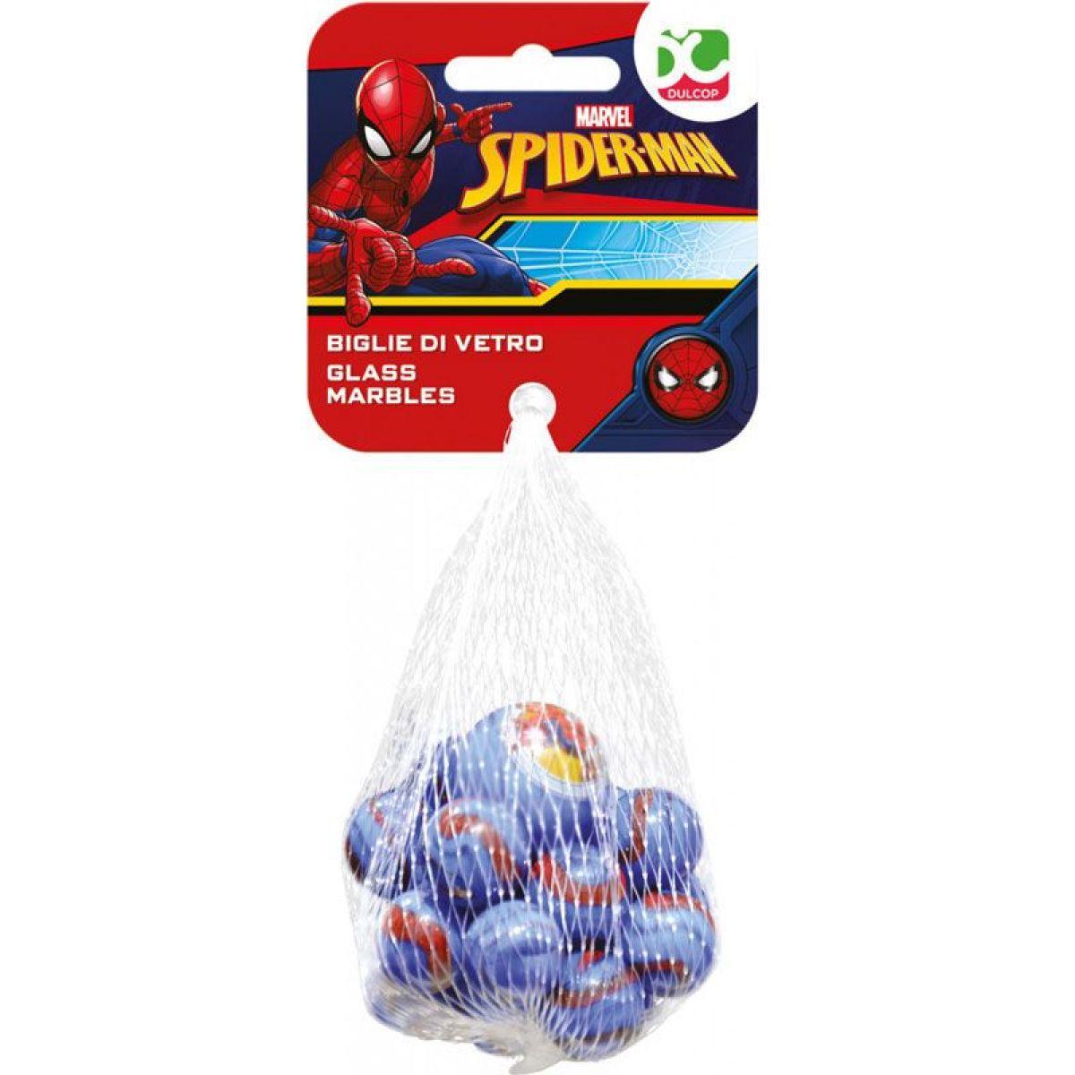 Skleněné kuličky Spiderman
