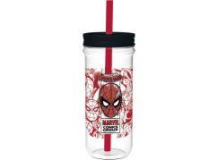 Sklenice plastová 670 ml Spiderman