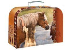 Školní kufřík Kůň s dívkou 25 cm
