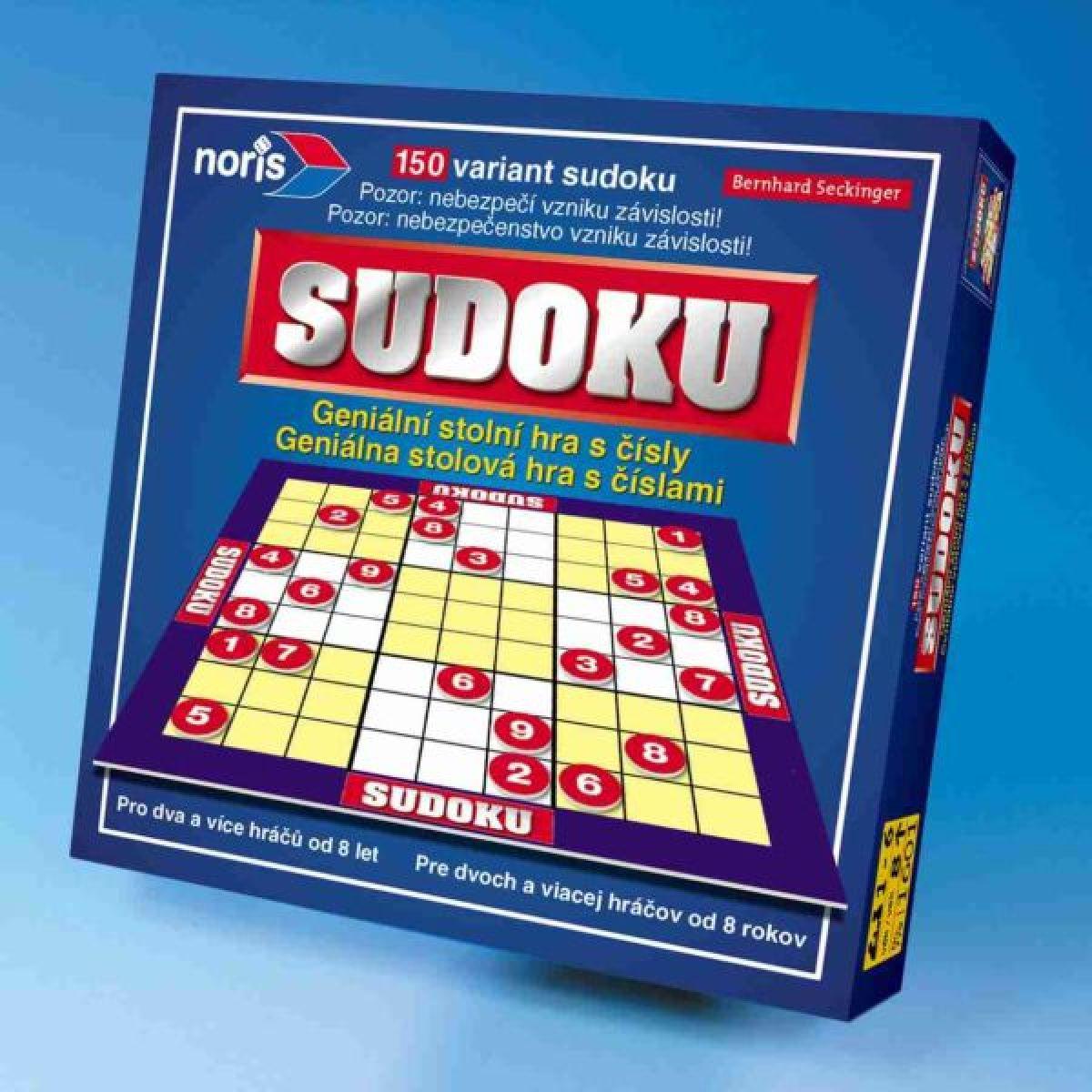Číslicová hra SUDOKU Simba
