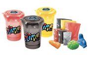 Slime sliz 3 pack pro kluky červená, černá, žlutá