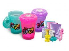 Slime sliz 3pack pro holky zelený, fialový, růžový