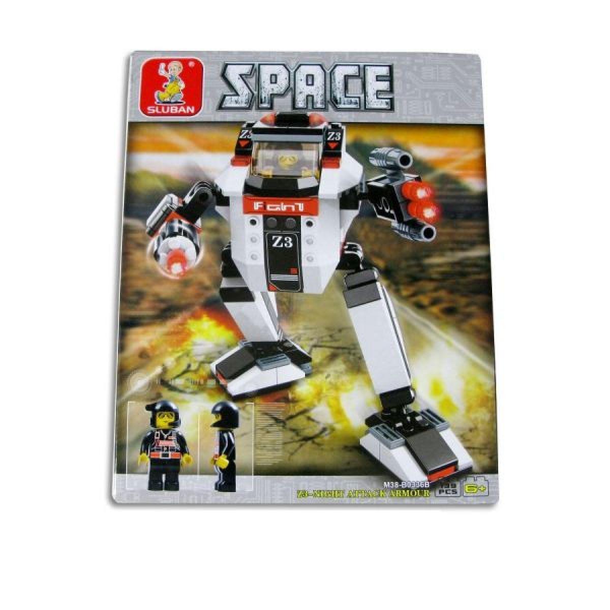 SLUBAN Kostky vesmírný robot 3v1