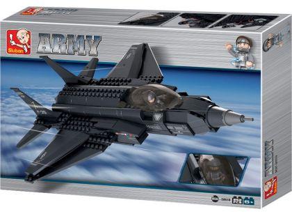 Sluban Stavebnice Bojový letoun F35