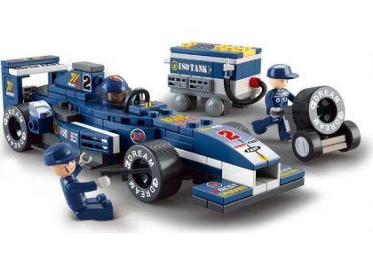 Sluban Stavebnice F1 Závodní auto 1:32
