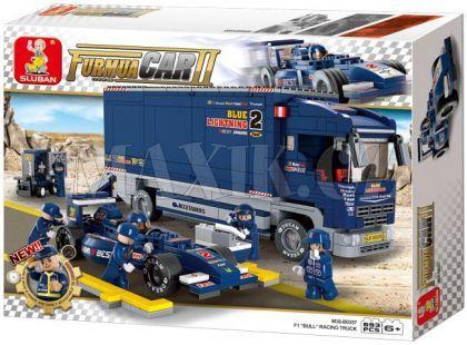Sluban Stavebnice F1 Závodní truck