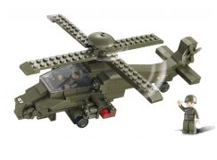 Sluban Stavebnice Hind helicoptera