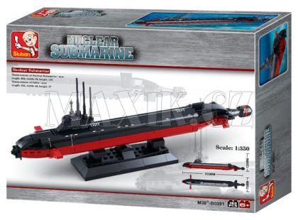 Sluban Stavebnice Jaderná ponorka