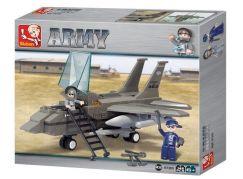 Sluban Stavebnice Stíhačka Cobra F15