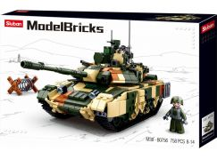 Sluban Stavebnice Tank T90MS, 758ks
