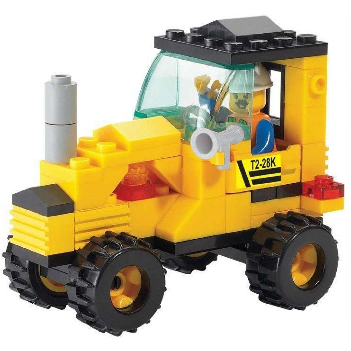 Sluban Stavebnice Traktor #2