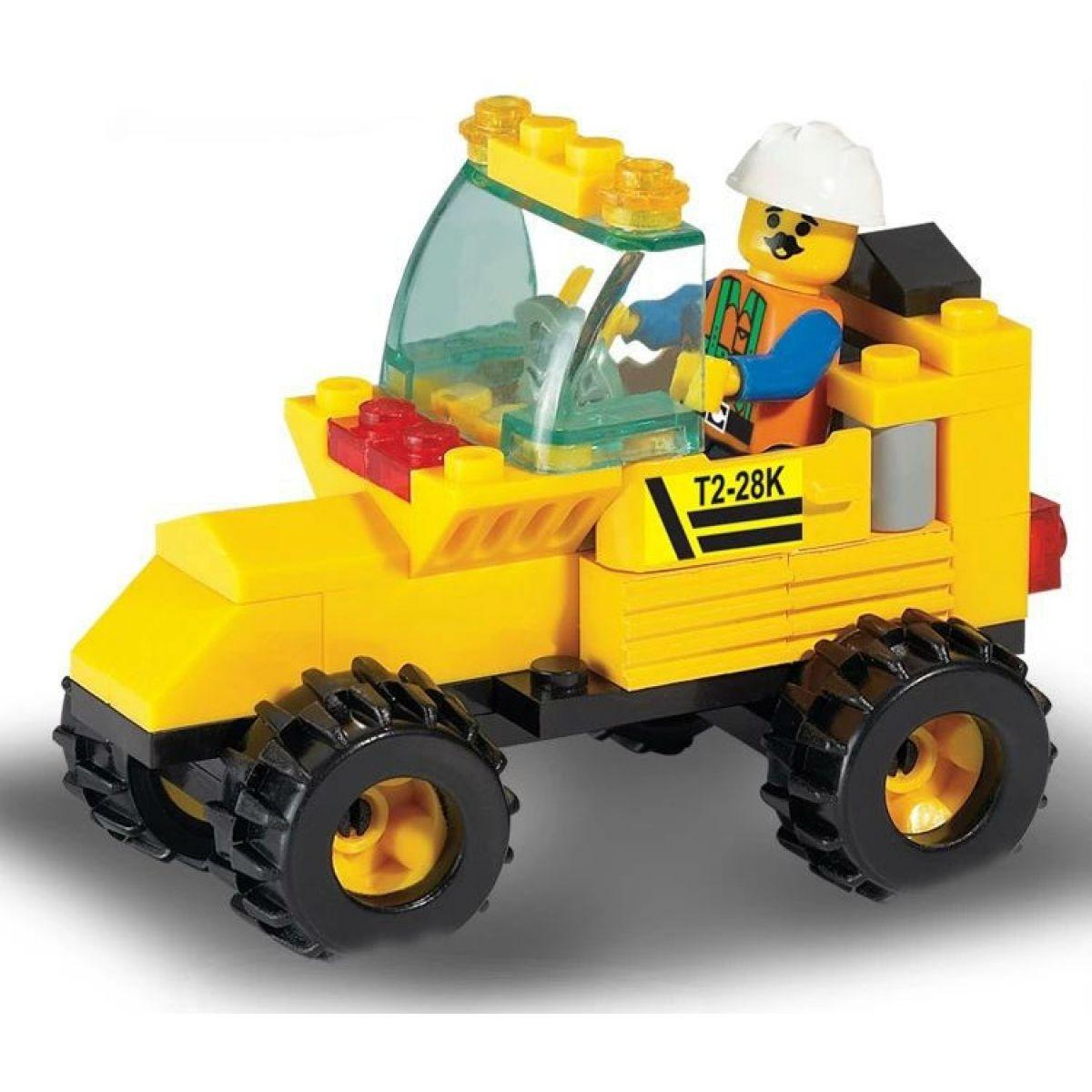 Sluban Stavebnice Traktor #3