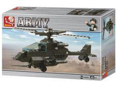Sluban Stavebnice Útočná helikoptéra G9
