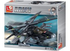 Sluban Stavebnice Vrtulník Apache