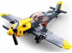 Sluban WWII Letadlo Messerschmitt BF109
