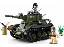 Sluban WWII Tank BT 7