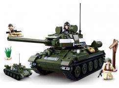 Sluban WWII Tank T34 nebo T85 2v1