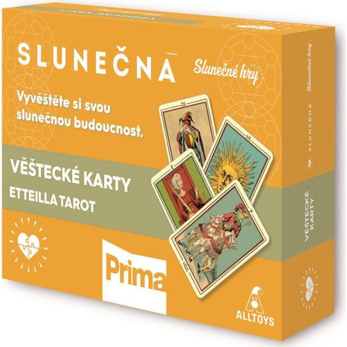 Slunečná - Luxusní věštecké karty