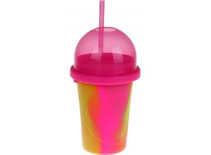 Slushy Maker výroba ledové tříště Růžová