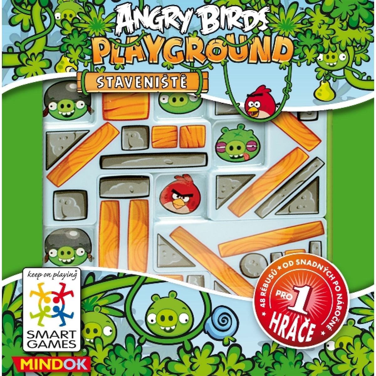 Smart Games Angry Birds Staveniště