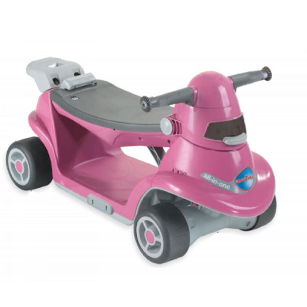 Smart Trike Odrážedlo auto All in one růžové