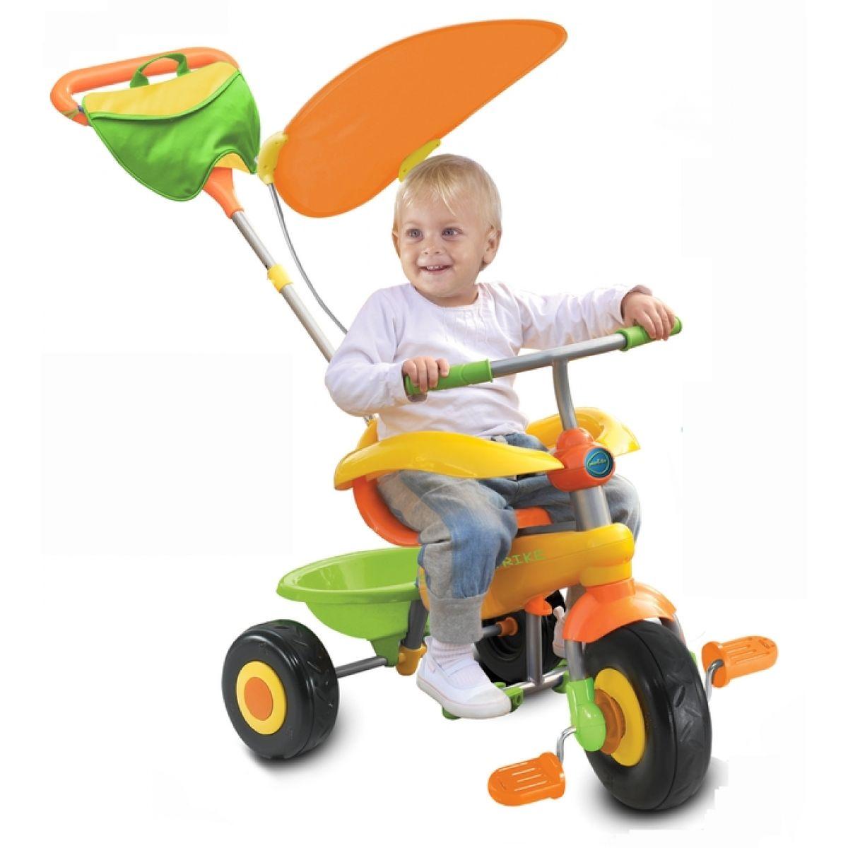 Smart Trike Tříkolka Candy oranžovo-zelená