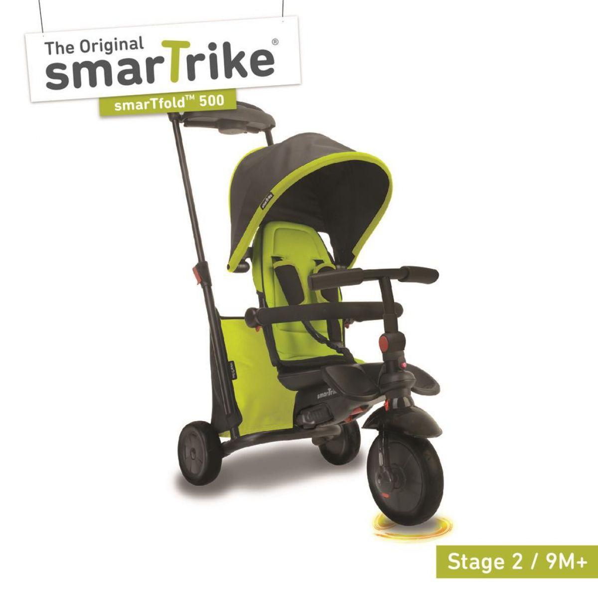 Smart Trike Tříkolka 7 v 1 Smartfold 500 zelená - Poškozený obal