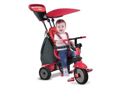 Smart Trike Tříkolka Glow 4v1 červená