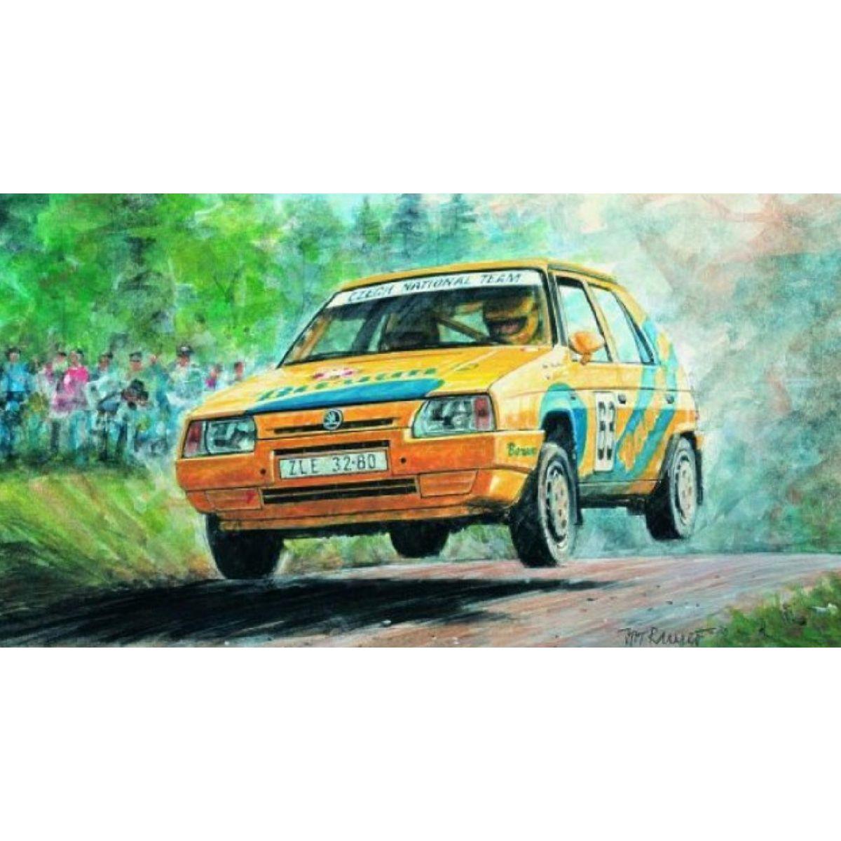 Směr Škoda Favorit rallye 96 1:28