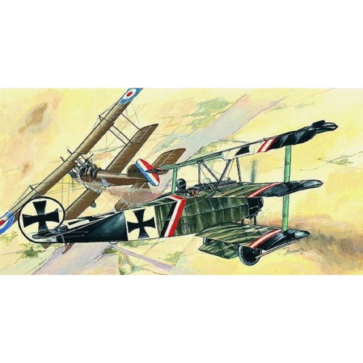 Směr Model letadla 1:44 Fokker Dr.I - Poškozený obal