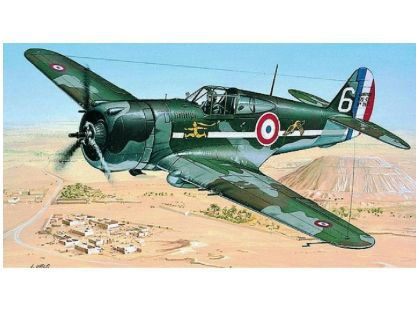 Směr Model letadla 1:72 Curtiss P-36/H.75 Hawk