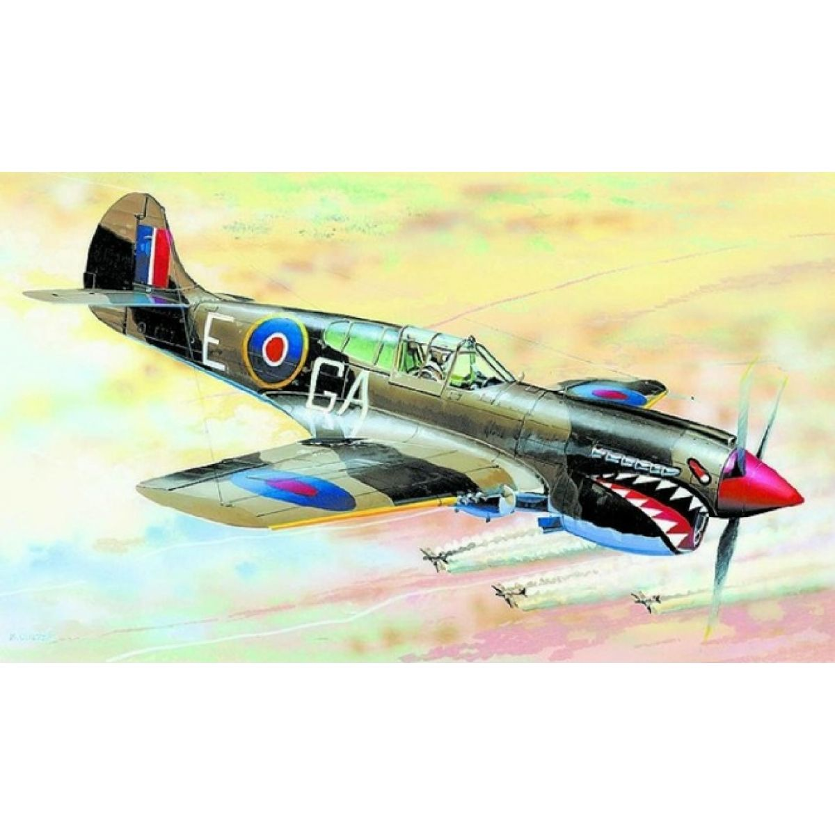 Směr Model letadla 1:72 Curtiss P-40 K