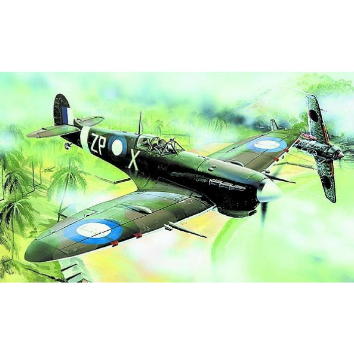 Směr Model letadla 1:72 Supermarine Spitfire Mk.Vc