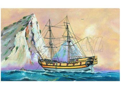 Směr Model lodě 1:120 Black Falcon