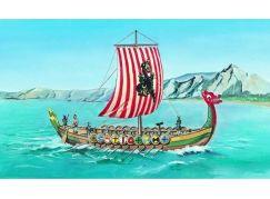 Směr Model lodě 1:60 Vikingská loď Drakkar
