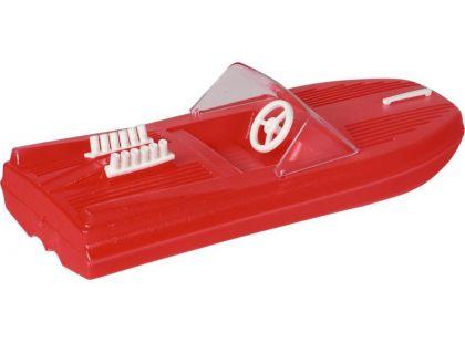 Směr Motorový člun 25cm červený