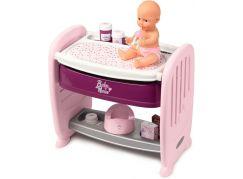 Smoby Baby Nurse 2v1 postýlka a přebalovací pult