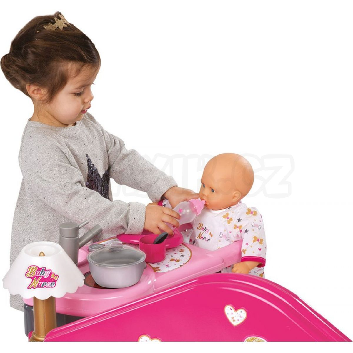 smoby baby nurse dome ek pro panenku max kovy hra ky. Black Bedroom Furniture Sets. Home Design Ideas