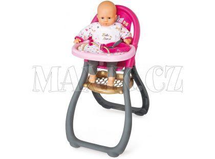 Smoby Baby Nurse Jídelní židlička