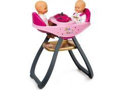 Smoby Baby Nurse Jídelní židlička pro panenky dvojčata - Poškozený obal