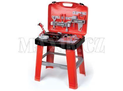 Smoby Black&Decker Dílna pracovní stůl v kufříku
