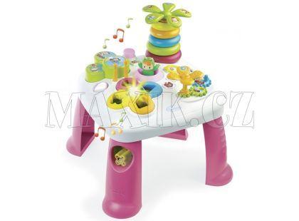 Smoby Cotoons Multifunkční hrací stůl - Růžová