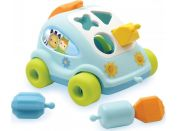 Smoby Cotoons Vkládačka autíčko - Modré auto