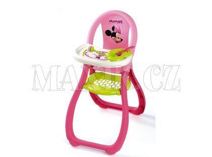 Smoby Disney Minnie Jídelní židlička