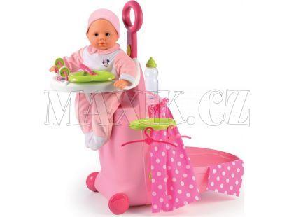 Smoby Disney Minnie Kufřík s postýlkou a stoličkou