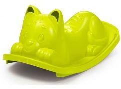 Smoby Houpačka Kočička zelená