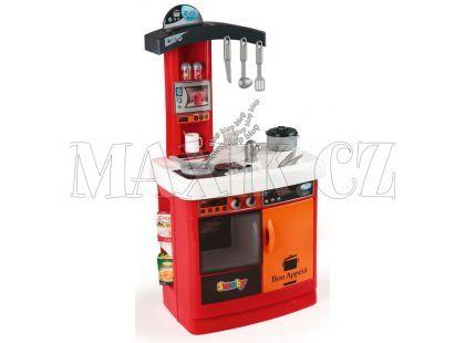 Smoby Kuchyňka Bon Appetit červená elektronická