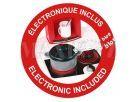 Smoby Kuchyňka Bon Appetit červená elektronická 4