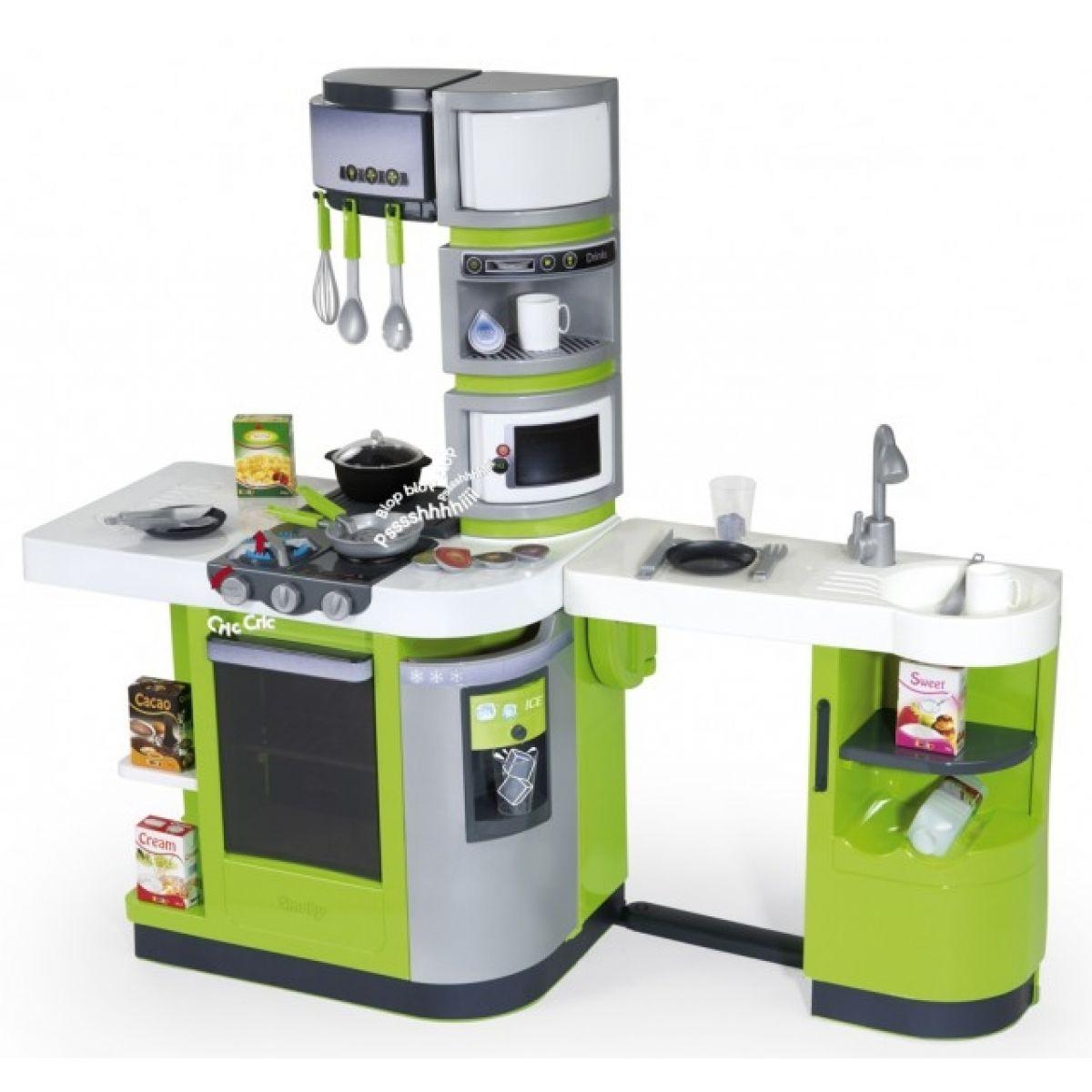 Smoby Kuchyňka Cook Master zelená